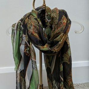 Pretty fall colored scarf
